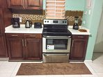 Great kitchen amenities  - microwave, coffee maker, toaster, blender and more...