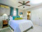 MASTER BEDROOM with cozy BATHROOM