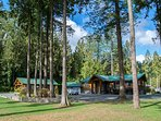 The Entire Riverfront Sanctuary!  *The Cabin can be booked separately for 4 more guests if available