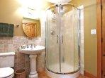 The Upstairs Master Bedroom 3 Piece En-suite Bathroom.