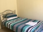 King single bed with wardrobe