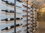 Wine cellar, please ask if you would like to have access