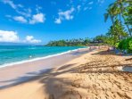 Voted one of the best beaches on Maui - Napili Bay.