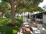 Private restaurants and Cafe in Club Playas del Duque,  Many cuisines on offer