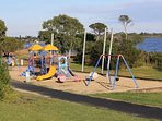 Playground by Lake Victoria
