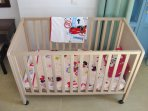 1st floor - the baby cot/crib (1 available)
