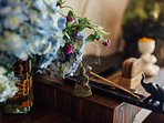 And of course, Indian incense sticks bring special notes into the atmosphere