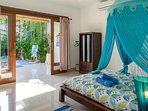 In each room you will find traditional Balinese clothes - sarongs (pareo)