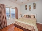 Master Bedroom with Beach View!!!