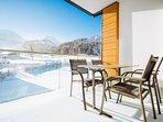 Relaxen auf der Terrasse oder dem Balkon - alle Wohnungen sind nach Süden ausgerichtet.