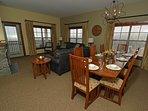 Soaring Eagle Lodge 405: 3 Bedroom, 2 Bath Penthouse. Ski In/Ski Out.