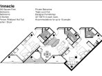 Pinnacle layout -- 1682 square feet