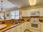 Whip up delicious homemade meals in the fully equipped kitchen.