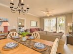 Savor homemade meals around this 4-person dining table.