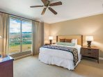 Wake up and stretch with plenty of room and a window to paradise.