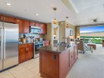 From the Kitchen, keep the conversation flowing with friends and family in the Living Area.