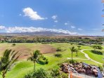 Enjoy the views of the West Maui mountains.