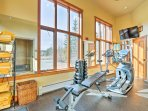 Blow off some steam in the community fitness center!