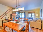Enjoy home-cooked meals around the 6-person dining table.