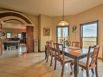 Enjoy formal family feasts at either one of the 2 indoor dining areas.