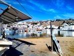 Fish market in Mykonos town