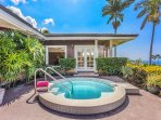 Take a dip in your own private plunge pool.