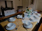 Dining Room with seating for 10 - plus Aga cooker