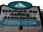 Rehoboth Bay Sailing Assoc., Dewey Beach, DE 19971. Rental Boats available.