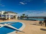 Beach Club infinity edged pool