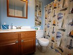 King Full Bathroom, fully equipped,