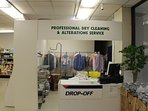 Dry cleaning in the building