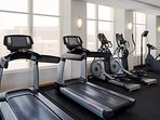 Fitness Center on top Floor