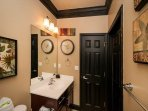 Second Floor Bunk Room Bathroom