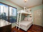 Second Floor Guest Room with Bunk Beds