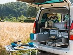 Our Cuckoo campervans are fully equipped with everything you need for a perfect road trip!