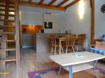 Living room - Eat corner - Cook corner