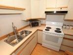 Enjoy the fully-equipped kitchen with loads of room to prepare elegant meals.