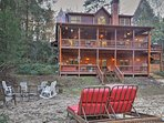 Plan your next vacation at this beautiful house located on the Cartecay River!