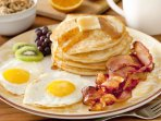 order your breakfast for a small fee