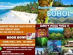 you plan after check out going to bohol we can organize this for you
