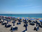 Letojanni's beach