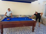 Enjoy a game of Pool on the outside Terrace