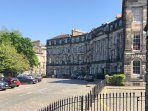 Moray Place:  Edinburgh's New Town at its restrained grandest.