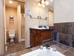 Master Bathroom, Soaking Tub, and Walk-in Shower