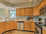 With ample counter space and modern appliances, meal prep will be a breeze!