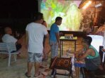 watch your movie on big screen in open air dont forget your usb stick to bring also karaoke