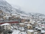 Arachova, the famous winter ski cosmopolitan town, an hour drive away from the estate.