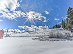 This ski-in/ski-out condo is the closest property to the slopes in Tahoe Donner!