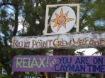 Visit Rum point for a Cayman Lemonade