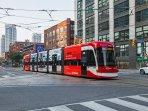 Toronto streetcar on your door step